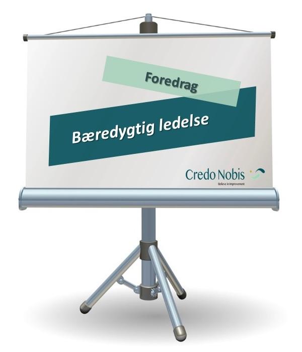 CredoNobis Coaching - Bæredygtig ledelse foredrag