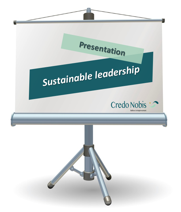 CredoNobis Coaching - Sustainable leadership presentation