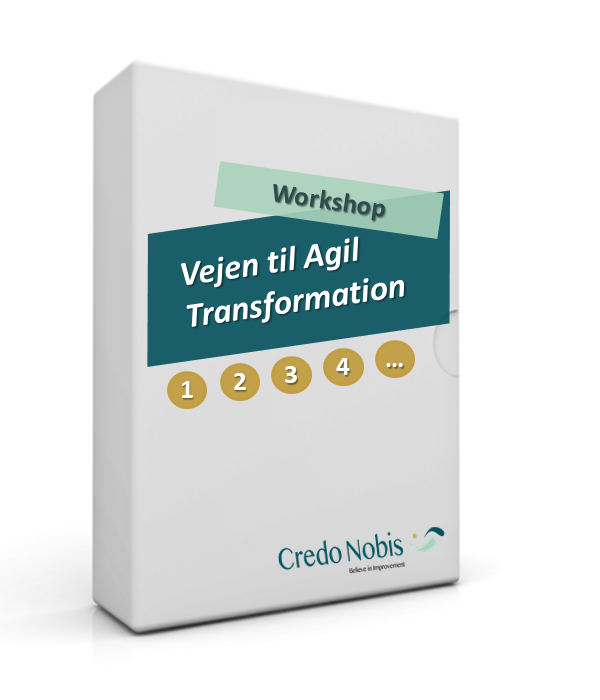 CredoNobis Coaching - Vejen til Agil Transformation workshop - handlingsplan for forandringer