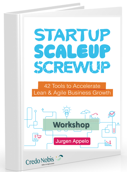 Workshop with Jurgen Appelo - ShiftUp - Business Agility and Innovational leadership